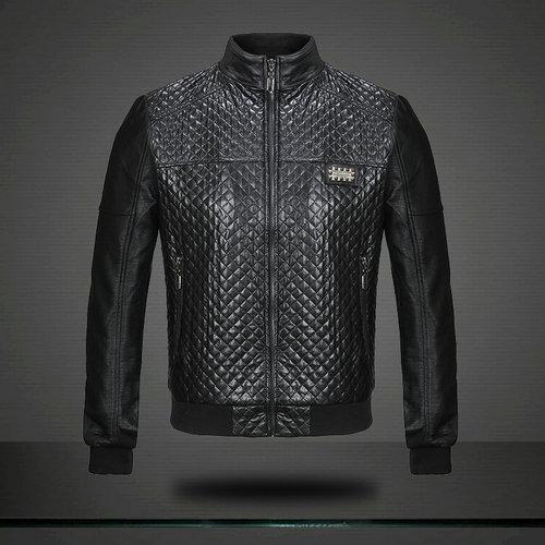 veste philipp plein leather jacket skull motorcycle as boss. Black Bedroom Furniture Sets. Home Design Ideas