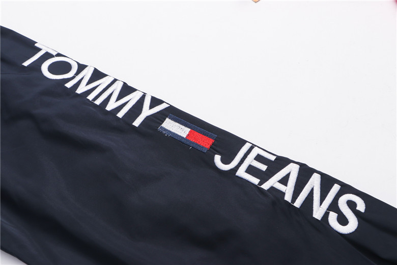 jacket tommy man vintage shoulde logo blue