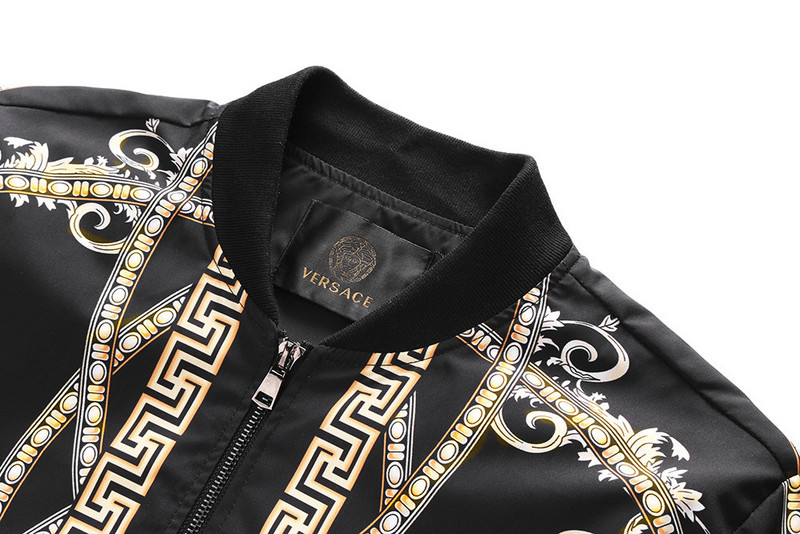 jacket versace 2018 hiver back cup